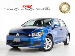 Used 2017 Volkswagen Golf TSI COMFORTLINE I CAM I LOCAL VEHICLE for sale in Vaughan, ON
