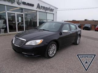 Used 2013 Chrysler 200 Limited for sale in Arnprior, ON
