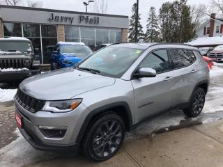 Used 2020 Jeep Compass LIMITED for sale in New Hamburg, ON