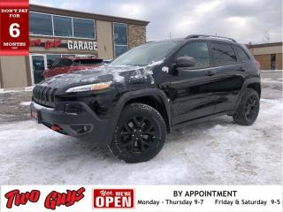 Used 2017 Jeep Cherokee Trailhawk | 4WD | Panoroof | Nav | Leather | Remot for sale in St Catharines, ON