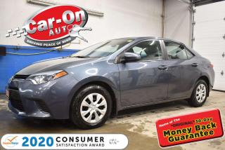 Used 2016 Toyota Corolla AUTOMATIC | AIR COND | for sale in Ottawa, ON