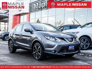 Used 2017 Nissan Qashqai SL Platinum  AWD  Navi Pano Moonroof 360 Cam for sale in Maple, ON