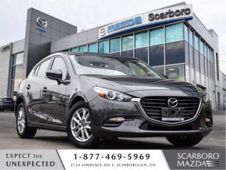 Used 2018 Mazda MAZDA3 Sport 0.99%FINAN|CPO|GS|LOW LOW KM|1 OWNER|CLEAN CARFAX for sale in Scarborough, ON