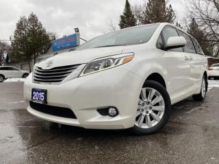 Used 2015 Toyota Sienna 5dr XLE 7-Pass AWD* ACCIDENT FREE*BLIND SPOT DETECTION*NAVI for sale in Brampton, ON