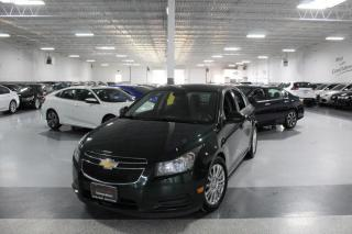 Used 2014 Chevrolet Cruze ECO I REAR CAM I POWER OPTIONS I KEYLESS ENTRY I BLUETOOTH for sale in Mississauga, ON