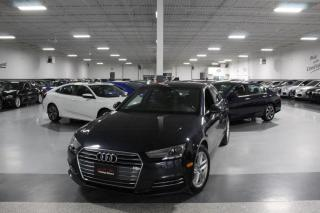 Used 2017 Audi A4 QUATTRO NO ACCIDENTS I LEATHER I SUNROOF I HEATED SEATS I BT for sale in Mississauga, ON