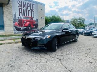Used 2018 Honda Accord Sedan Touring CVT for sale in Barrie, ON