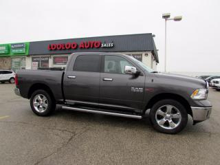 Used 2017 RAM 1500 BIGHORN Crew Cab Diesel 4WD Camera Certified for sale in Milton, ON
