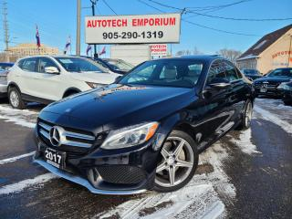Used 2017 Mercedes-Benz C-Class AMG C300 4matic AWD/Navigation/Camera/Pano Sunroof for sale in Mississauga, ON
