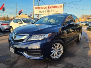 Used 2018 Acura RDX TECH Navigation/Sunroof/Leather/Bluetooth for sale in Mississauga, ON