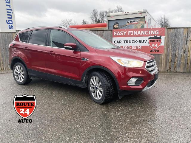 2017 Ford Escape Titanium AWD,Absolutely fully equipped plus more, impeccable condition.