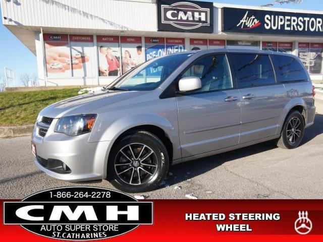 2017 Dodge Grand Caravan GT  CAM DVD LEATH P/SEATS HTD-SW 7-PASS