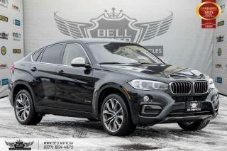 Used 2017 BMW X6 xDrive35i, NO ACCIDENTS, AWD, HEADS-UP DIS, NAVI, REAR CAM for sale in Toronto, ON