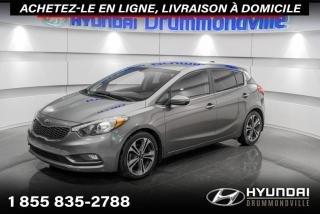 Used 2015 Kia Forte5 EX + GARANTIE + CAMERA + AC + MAGS + WOW for sale in Drummondville, QC