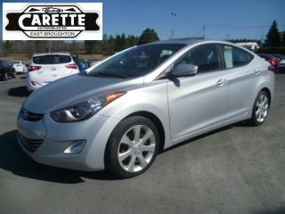 Used 2012 Hyundai Elantra Limited cuir-toit-gps for sale in East broughton, QC