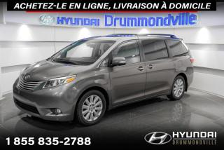 Used 2017 Toyota Sienna LIMITED + GARANTIE + NAVI + TOIT + CUIR for sale in Drummondville, QC