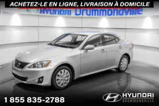 Used 2012 Lexus IS 250 GARANTIE + MAGS + A/C + PADDLE SHIFT + B for sale in Drummondville, QC