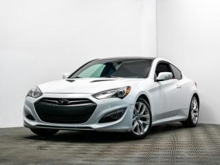 Used 2014 Hyundai Genesis Coupe PREMIUM AUTO TURBO CUIR NAV TOIT OUVRANT for sale in Brossard, QC