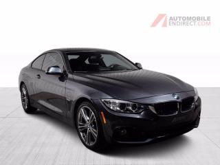 Used 2016 BMW 4 Series 428i Coupé xDrive M Pack Cuir Toit GPS Caméra for sale in St-Hubert, QC