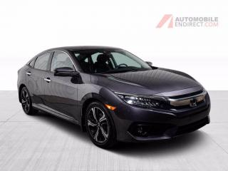 Used 2018 Honda Civic TOURING CUIR TOIT PUSH START MAGS for sale in St-Hubert, QC