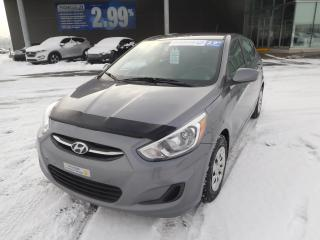 Used 2016 Hyundai Accent 5dr HB Man GL,A/C,CRUISE,BLUETOOTH for sale in Mirabel, QC