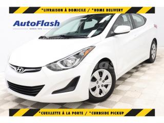 Used 2016 Hyundai Elantra L+* AUTO* A/C* GR-ELECTRIQUE* TRÈS-PROPRE! for sale in St-Hubert, QC