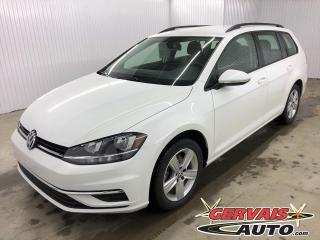 Used 2019 Volkswagen Golf Sportwagen 4MOTION AWD MAGS CAMÉRA SIÈGES CHAUFFANTS *Traction intégrale* for sale in Shawinigan, QC