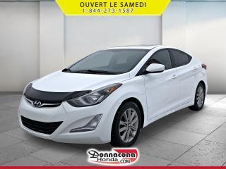 Used 2014 Hyundai Elantra GLS *A VENDRE*JAMAIS ACCIDENTE* for sale in Donnacona, QC