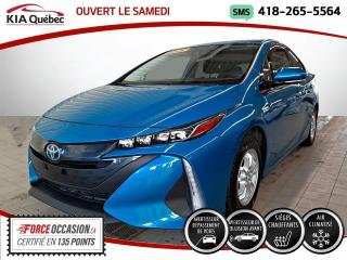 Used 2020 Toyota Prius Plug-In SIEGES CHAUFFANTS* TOYOTA SAFETY SENSE* for sale in Québec, QC