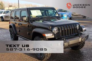 New 2021 Jeep Wrangler Willys for sale in Medicine Hat, AB
