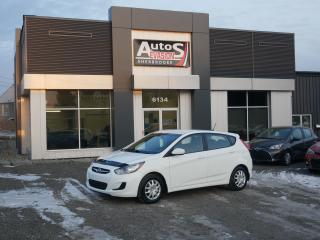 Used 2012 Hyundai Accent GL HATCHBACK + INSPECTÉ + FREINS NEUFS + BAS KILO for sale in Sherbrooke, QC