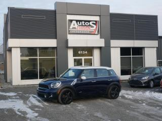 Used 2014 MINI Cooper Countryman S ALL4 + INSPECTÉ + FREINS NEUFS + CUIR + TOIT for sale in Sherbrooke, QC