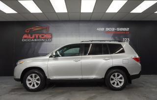 Used 2011 Toyota Highlander 4WD V6 3.5L AUTO 7 PASSAGERS CAMERA BLUETOOTH MAGS for sale in Lévis, QC