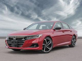 New 2021 Honda Accord Sedan SE for sale in Corner Brook, NL