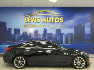 Used 2015 Cadillac ATS 2.0L LUXURY AWD 73200 KM CUIR TOIT GPS T for sale in Lévis, QC