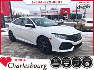 Used 2017 Honda Civic SPORT HATCHBACK **TOIT OUVRANT** for sale in Charlesbourg, QC