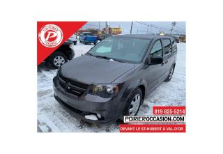 Used 2017 Dodge Grand Caravan SXT PORTES LATÉRAUX for sale in Val-D'or, QC