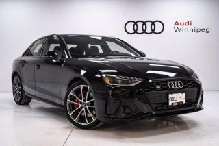 New 2021 Audi S4 Sedan Progressiv for sale in Winnipeg, MB