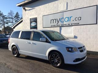 Used 2019 Dodge Grand Caravan GT LEATHER POWER/HEATED SEAT, BACK UP CAM, ALLOYS, for sale in Richmond, ON