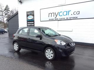 Used 2019 Nissan Micra SV BACKUP CAM, POWERGROUP, A/C!! for sale in Richmond, ON