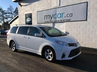 Used 2020 Toyota Sienna LE 8-Passenger POWER SEAT/DOORS, HEATED SEATS, BACKUP CAM!! for sale in Richmond, ON