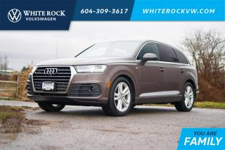 Used 2017 Audi Q7 3.0T Technik *S-LINE* *DYNAMIC RIDE* *DRIVERS ASSIST PLUS* *CEDAR BROWN INTERIOR* for sale in Surrey, BC