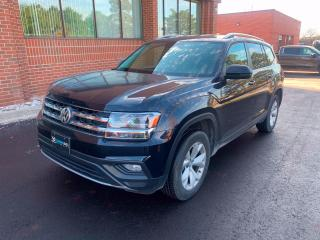 Used 2019 Volkswagen Atlas 3.6 FSI Comfortline 10 to Choose From! Leather, Heated Steering, Adaptive Cruise for sale in King, ON