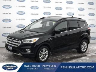 Used 2018 Ford Escape SEL - Leather Seats -  SYNC 3 - $155 B/W for sale in Port Elgin, ON