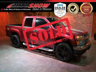 Used 2007 Chevrolet Colorado Z71 Crew 4x4 - Low Mileage !! for sale in Winnipeg, MB