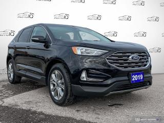 Used 2019 Ford Edge Titanium Navi/Leather/Roof/Remote Start for sale in St Thomas, ON