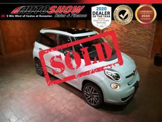 Used 2015 Fiat 500 L Lounge - Pano Roof, Htd Lthr, Nav, Beats Stereo for sale in Winnipeg, MB