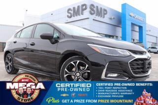 Used 2019 Chevrolet Cruze LT- RS Pkg, Remote Start, Heated Seats, Back Up Camera for sale in Saskatoon, SK