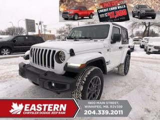 New 2021 Jeep Wrangler 80th Anniversary | Removeable Hard Top | Backup Cam | for sale in Winnipeg, MB