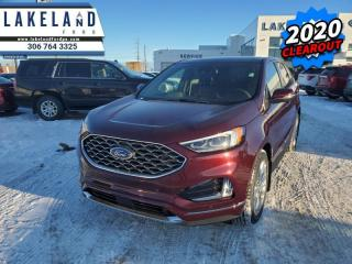 New 2020 Ford Edge Titanium  - Navigation - Cooled Seats - $295 B/W for sale in Prince Albert, SK